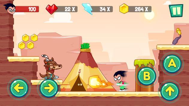 Teen Adventure And Titans screenshot 1