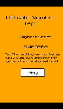 Ultimate Number Tap! screenshot 4