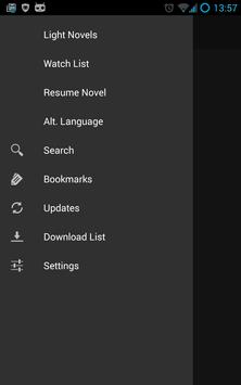 BakaReader EX screenshot 1