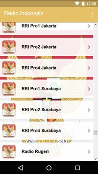 Radio Indonesia screenshot 4