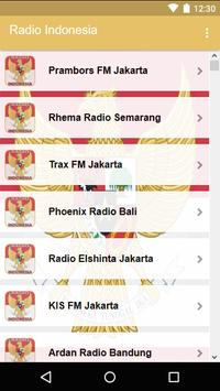 Radio Indonesia screenshot 1