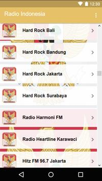 Radio Indonesia screenshot 3