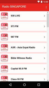 Radio SINGAPORE screenshot 1
