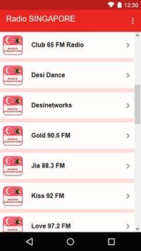 Radio SINGAPORE screenshot 2
