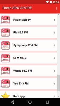 Radio SINGAPORE screenshot 4