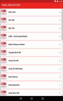 Radio SINGAPORE screenshot 8