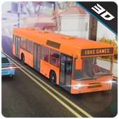 Special Coach Bus Driving : Real bus taxi share icon