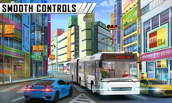 Special Coach Bus Driving : Real bus taxi share screenshot 3