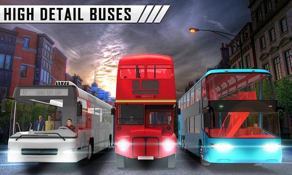 Special Coach Bus Driving : Real bus taxi share poster