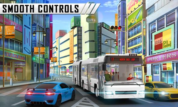 Special Coach Bus Driving : Real bus taxi share screenshot 7