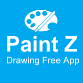 Paint Z Drawing Free icon