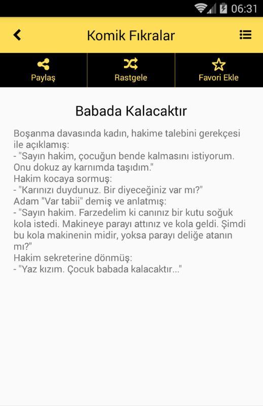 Komik Fıkralar For Android Apk Download