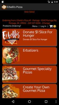 Erbelli's Gourmet Pizzeria screenshot 1