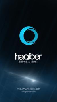 Hadber - Haberler poster
