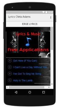 Lyrics Music Oleta Adams screenshot 2