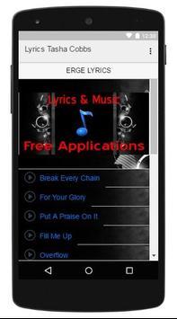 Lyrics Music Tasha Cobbs screenshot 2