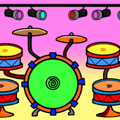 Cartoon Drums icon