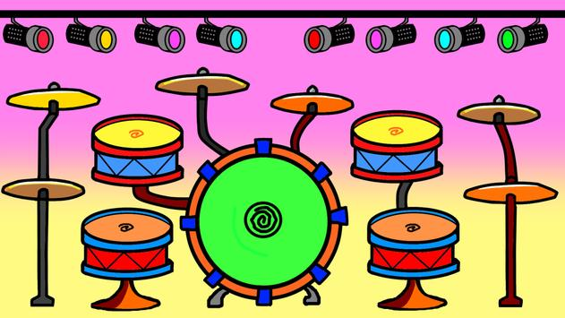 Cartoon Drums poster