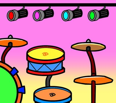 Cartoon Drums screenshot 2
