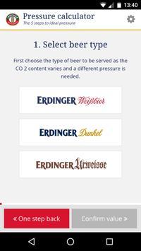 ERDINGER draft beer calculator screenshot 1
