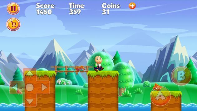 Super Baldio World Adventues screenshot 1