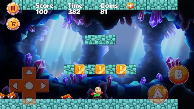 Super Baldio World Adventues screenshot 2