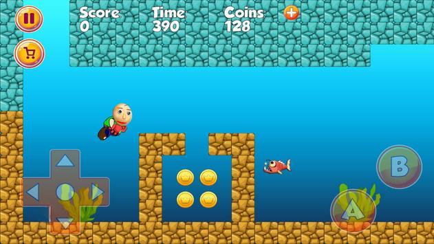Super Baldio World Adventues screenshot 3