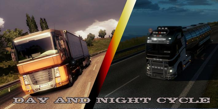 EURO TRUCK EXTREME DRIVING 16 apk screenshot