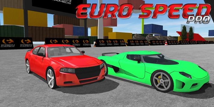 EURO SPEED DRIFT RACING PRO poster