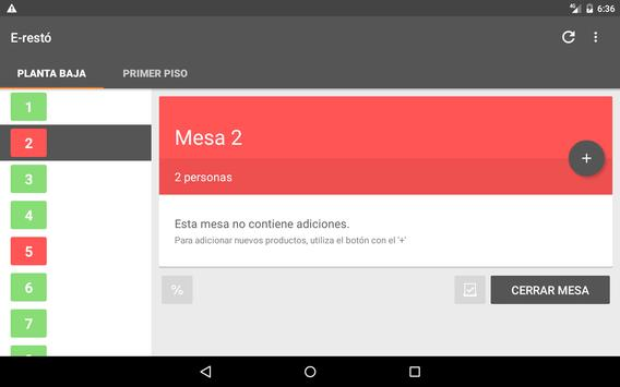 E-restó apk screenshot