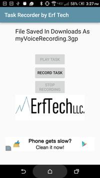 Task Recorder by Erf Tech poster