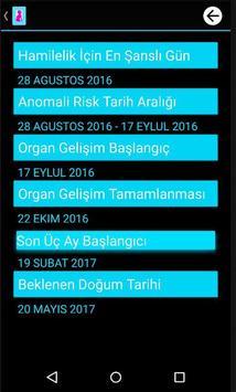 Calendario del Embarazo screenshot 2