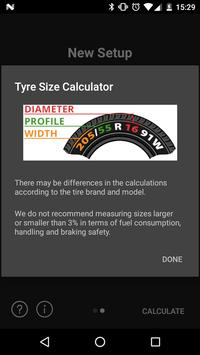 Tyre Size Calculator screenshot 2
