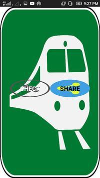 Train Status pnr status poster