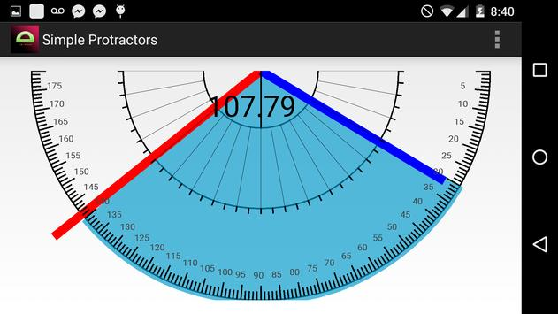 SMART PROTRACTOR 2 screenshot 1