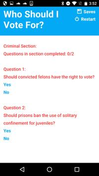 Who Should I Vote For? apk screenshot