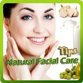 Natural Facial Care Tips icon