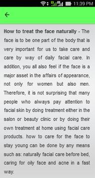Natural Facial Care Tips screenshot 3