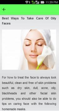 Natural Facial Care Tips screenshot 5