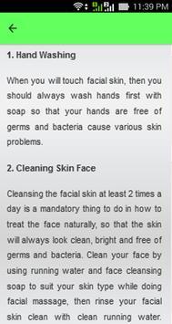 Natural Facial Care Tips screenshot 6