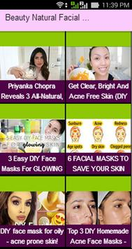 Beauty Natural Facial Mask Videos poster