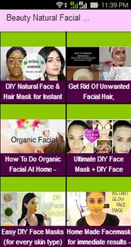 Beauty Natural Facial Mask Videos screenshot 1