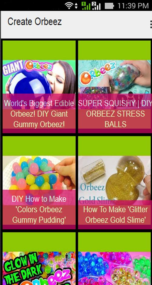 Create Orbeez for Android - APK Download