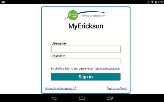My Erickson apk screenshot