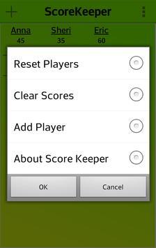 ScoreKeeper apk screenshot