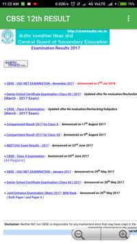 CBSE 12th Result poster