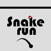Snake run icon