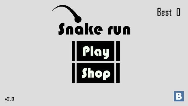 Snake run poster