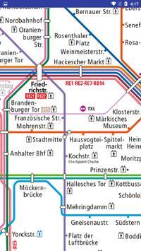 Berlin U-Bahn Straßenbahn Karte screenshot 1