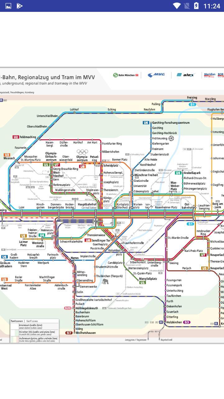 Munchen Deutsche U Bahn Linien Karte For Android Apk Download